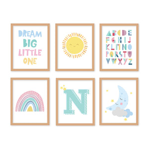 rainbow-baby-nursery-wall-art-frames