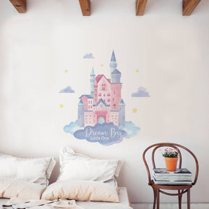Castle of Dreams Wall Decal Sticker