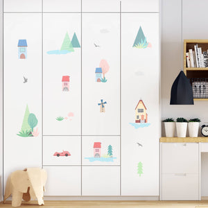 small-houses-theme-kids-room-wall-decal-sticker