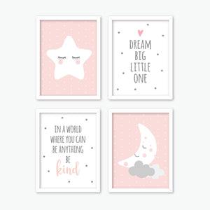 Sweet Dreams Nursery Wall Art