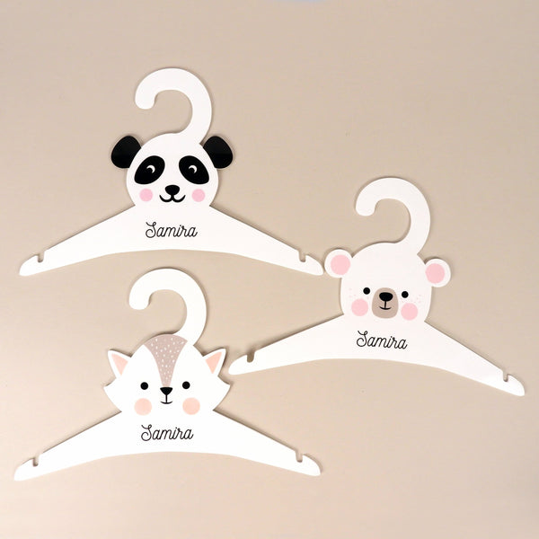 Set of 3 - Personalised Clothes Hangers
