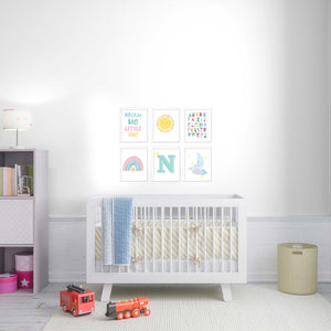 rainbow-baby-nursery-wall-art-frames-set-wall-decor