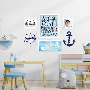 Classic Nautical theme - Gallery Wall