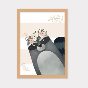 Woodland Animal Portrait Frames Set