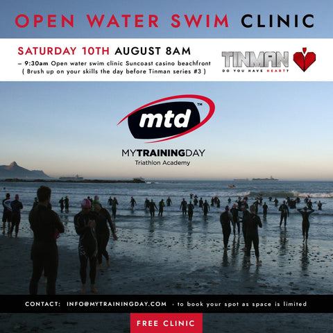 Aug: Open water swim clinic - Free – Mytrainingday