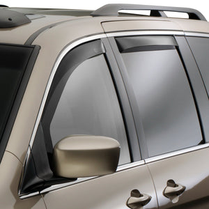 2005-2007 Honda Odyssey EX Front & Rear Side Window Deflectors