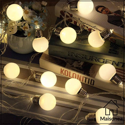 Ruban lumineux d'ampoules led - Maisonea