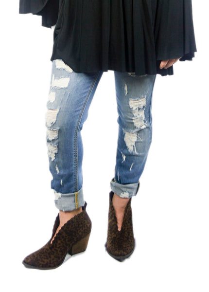 Light Denim Skinny Jean