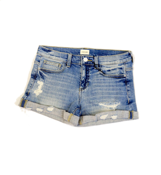 Light Denim Short