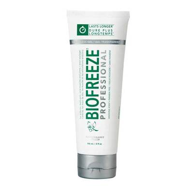 Biofreeze Gel - 4oz Colourless