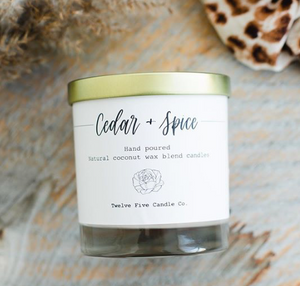 Candle - Cedar and Spice