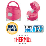 Thermos FUNtainer Stainless Steel 12oz. Straw Bottle - Shopkins