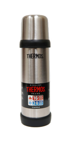 Thermos Stainless Steel Double Wall 16oz/470mL Compact Bottle (2410TRI)