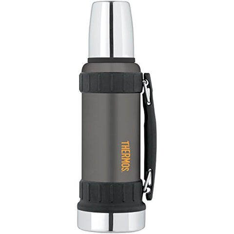 THERMOS Work Series 40 Ounce Beverage Bottle, Gun Metal