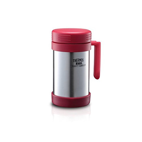 Thermos Vacuum Insulated Stainless Steel 500mL Dual Purpose Food Jar/Mug JMF-500