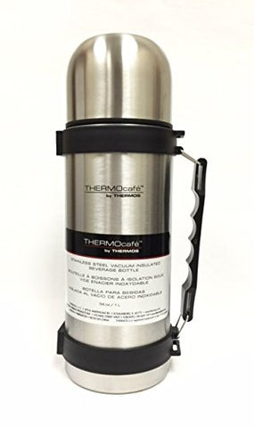 Thermocafe Stainless Steel Vacuum Insulated Beverage Bottle 34oz/1L