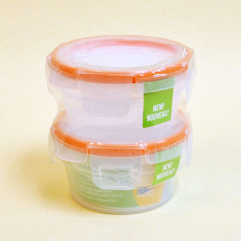 Circle Snapware Plastic Food Storage Set (2 PCS)
