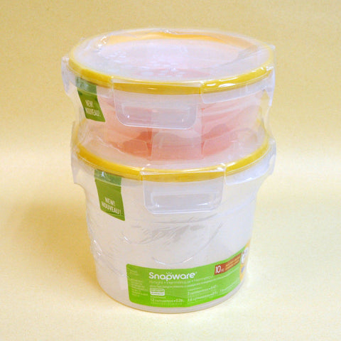 Snapware Plastic Food Storage Set (5 PCS)
