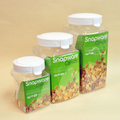 Square Snapware Canister