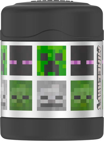 Thermos FUNtainer Stainless Steel 10oz. Food Jar - Minecraft