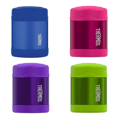 THERMOS FUNtainer Stainless Steel 10oz. Food Jar - Solid Colours