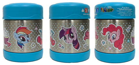 Thermos FUNtainer Stainless Steel 10oz. Food Jar - My Little Pony