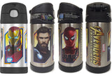 Thermos FUNtainer Stainless Steel 12oz. Straw Bottle - Avengers Infinity War