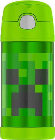 Thermos® FUNtainers™ Minecraft 12 oz. Stainless Steel Straw Bottle