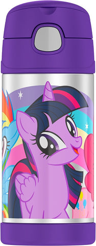 My Little Pony Stainless Steel Thermos Funtainer Hydration Bottle - 12 Ounce