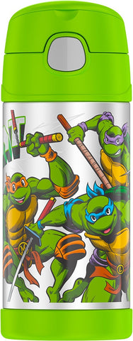 Teenage Mutant Ninja Turtle Stainless Steel Thermos Funtainer Hydration Bottle - 12 Ounce
