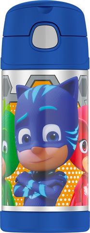 Thermos FUNtainer Stainless Steel 12oz. Straw Bottle - PJ Masks