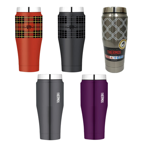 Thermos 16 Ounce/470mL Stainless Steel Travel Tumbler (H1000 Series)