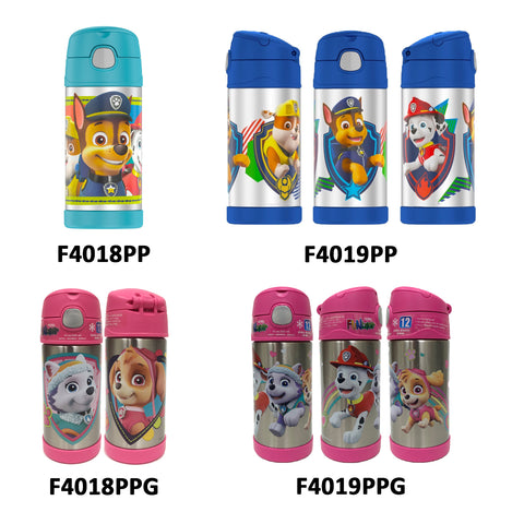 Thermos FUNtainer Stainless Steel 12oz. Straw Bottle - Paw Patrol