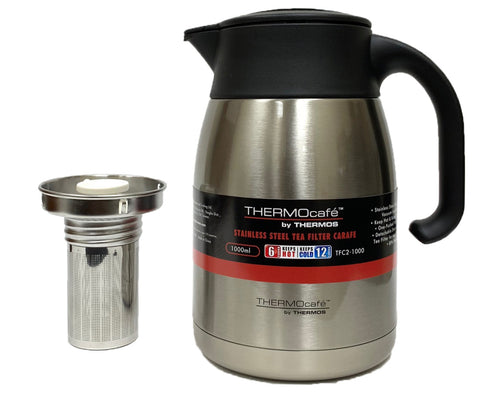 Thermos Thermocafe 1.0L Stainless Steel Tea Filter Carafe (TFC2-1000)