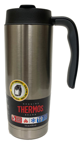 THERMOS 16oz./470mL Vacuum Insulated Stainless Steel Mug (TS1010SS4)