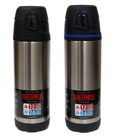 Thermos ELEMENT5 16 Ounce/470mL Vacuum Insulated Stainless Steel Backpack Bottle (TS4504AW4)
