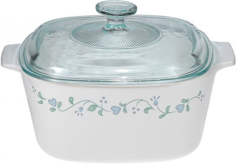 Corningware Covered Casserole (with Lid) (Country Cottage)