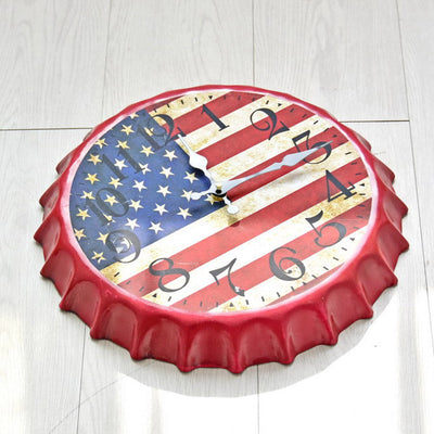 US Flag Clock