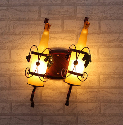 Beer Bottle Wall Lamp
