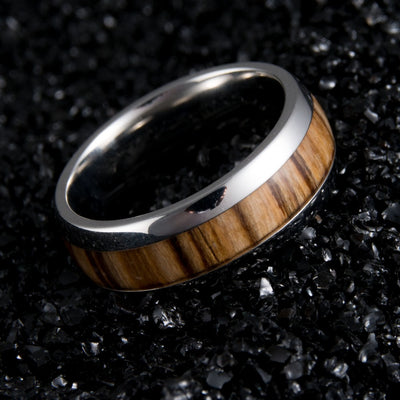 Wooden Barrel Ring In Honor Of Macallan 1946