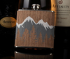 6oz Wooden Flask
