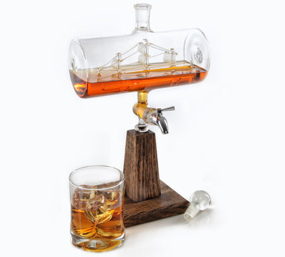 Antique Liquor Decanter - 1150ml