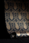 Cardiac Damask Wallpaper Sample - Grey & Bronze-Anatomy Boutique-Anatomy Boutique