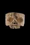 AB X IOANNA LIBERTA Skull Ring Gold-Anatomy Boutique-Anatomy Boutique