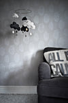 Anatomical Heart Wallpaper - Concrete and White-Anatomy Boutique-Anatomy Boutique