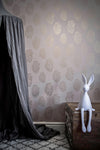 Anatomical Heart Wallpaper - Plaster and Gold-Anatomy Boutique-Anatomy Boutique