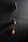 AB X DASH OF CURIOSITY - Heart pendant light fixture - Black-Anatomy Boutique-Anatomy Boutique