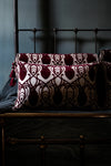 Cardiac Damask Velvet Bolster-Anatomy Boutique-Anatomy Boutique