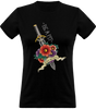 (new) T-shirt Femme 150g - Be a Pit - black Tshirt - Stay Sharp