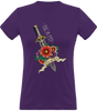 (new) T-shirt Femme 150g - Be a Pit - Purpple Tshirt - Stay Sharp